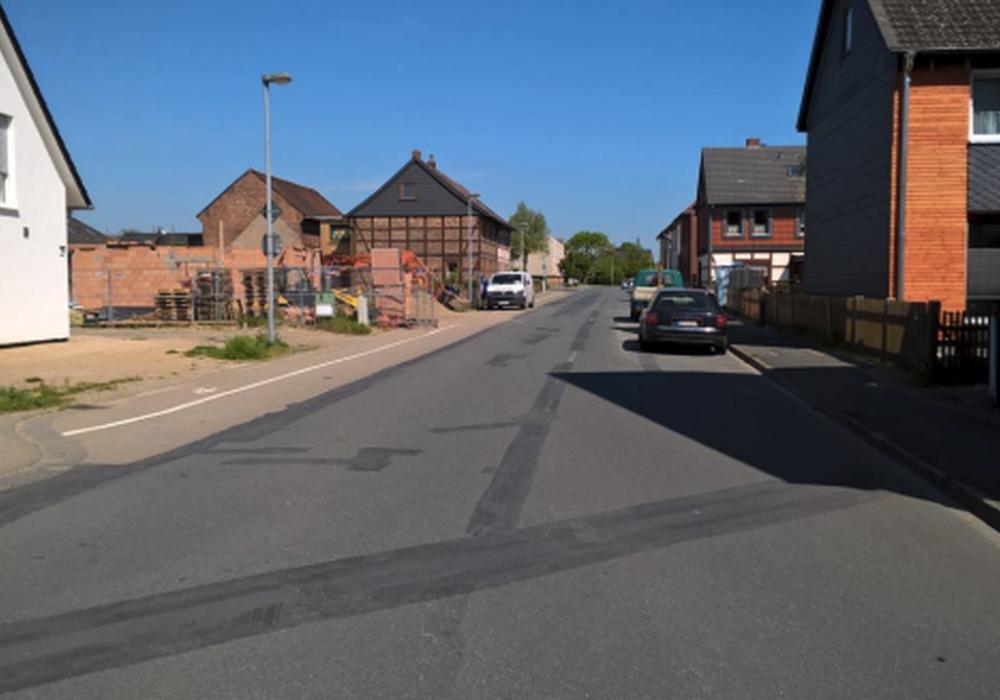 Grüninseln sollen für Verkehrsberuhigung auf dem Thieder Weg sorgen. Foto: Stadt Wolfenbüttel
