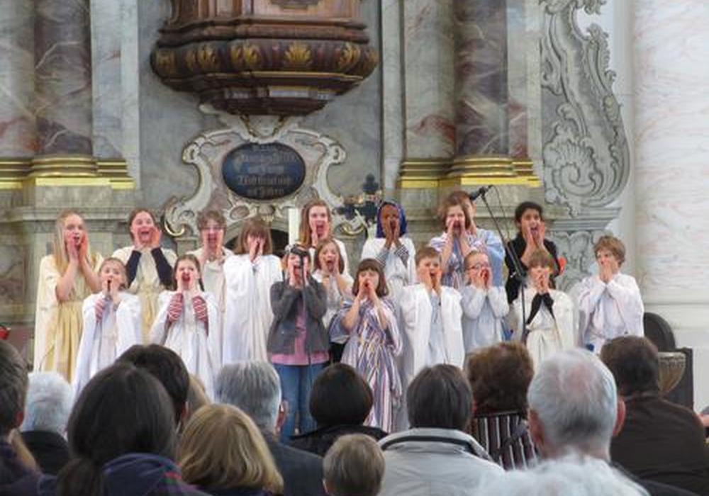 Gruppenbild bei der letzten Kindermusicalwoche. Foto: Privat