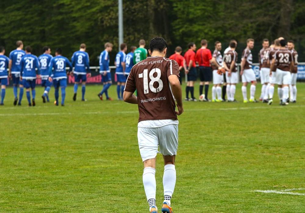Neuanfang in der Landesliga: Jonas Kierdorf und Freie Turner. Foto: Frank Vollmer