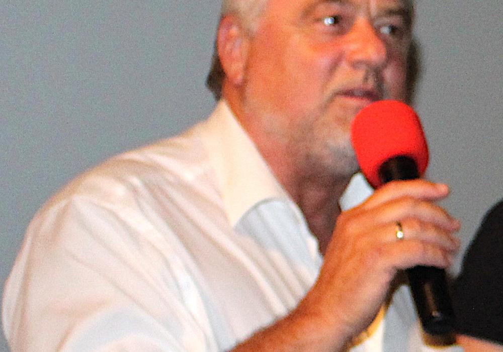 Ulf Küch redet Klartext. Foto: Dontscheff