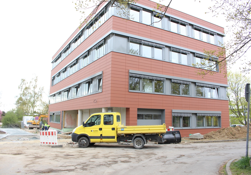 Das Ärztehaus im Neuen Weg 51. Foto: Max Förster