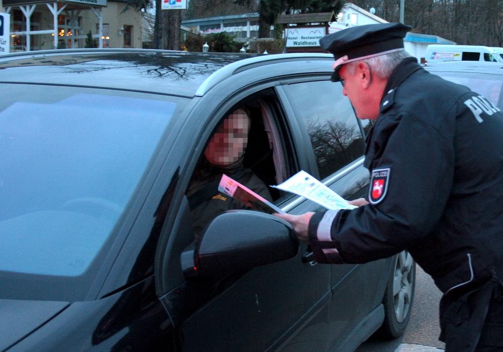 Die Polizei sprach eine Verwarnung aus. Symbolfoto: Werner Heise