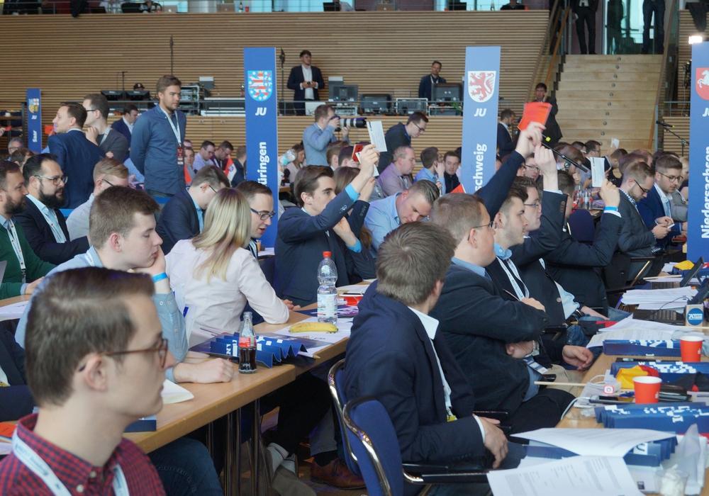 Die Junge Union konnte auf dem Deutschlandtag einiges bewegen. Fotos: Junge Union