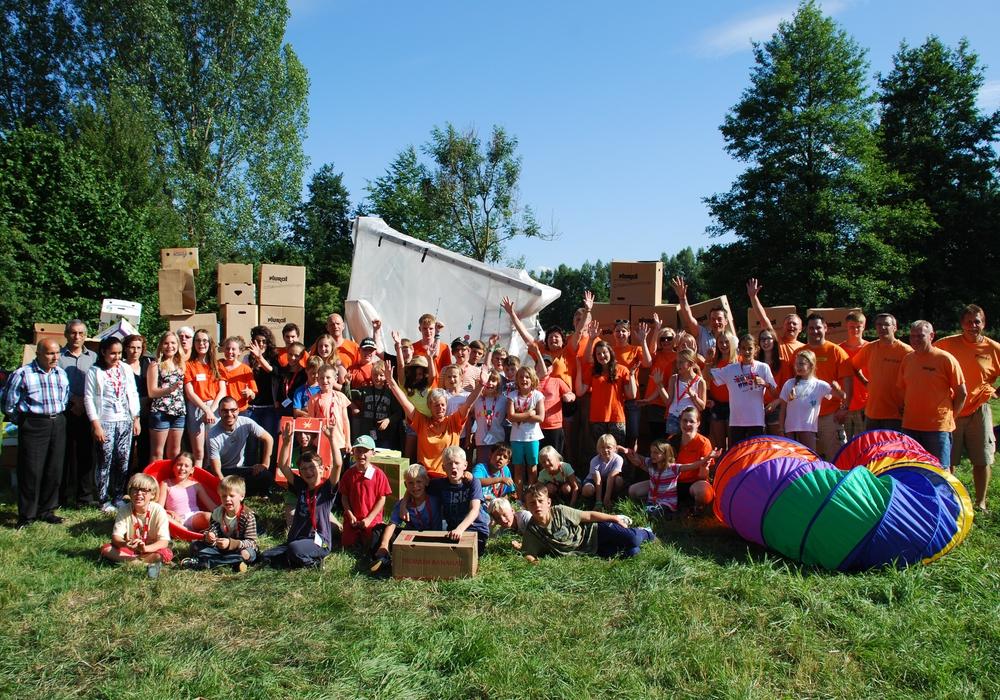 Zeltlager der Jugendfreunde. Foto: Privat