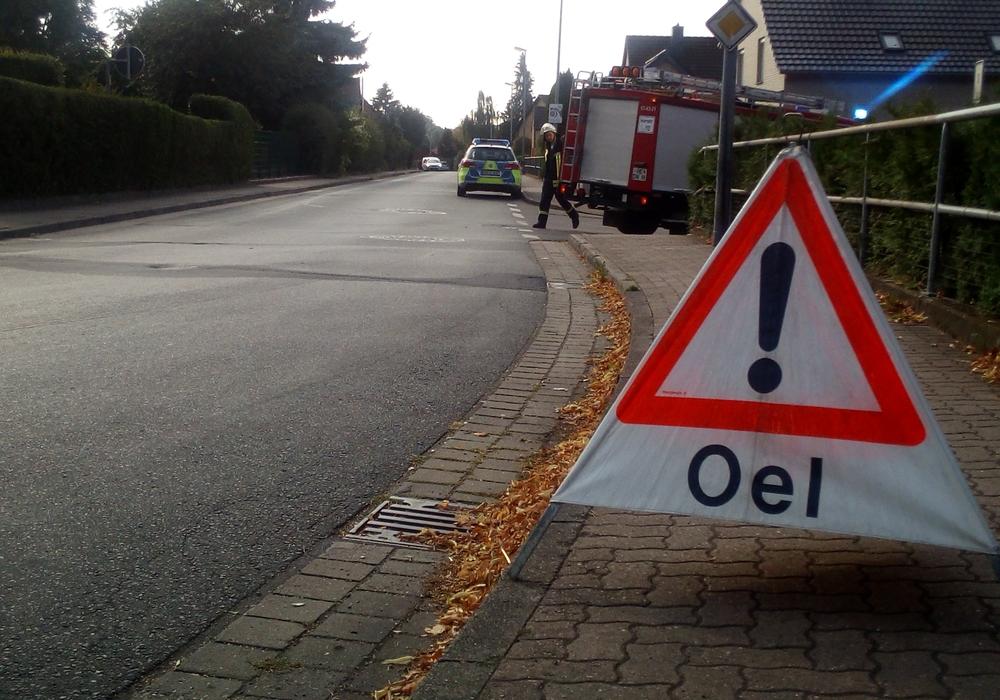 Die Feuerwehr musste zu einem defekten Fahrzeug ausrücken. Fotos: Gemeindefeuerwehr Lehre