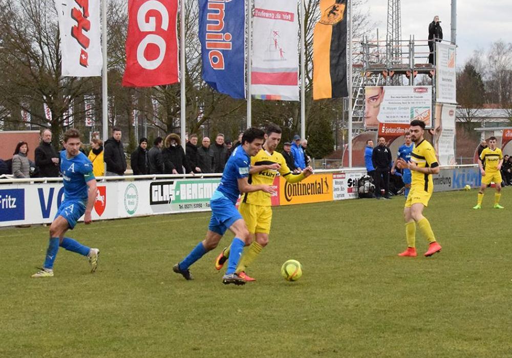 Der MTV Gifhorn erkämpft sich einen Punkt im Heimspiel gegen den HSC. Symbolfoto: Fabian Rampas