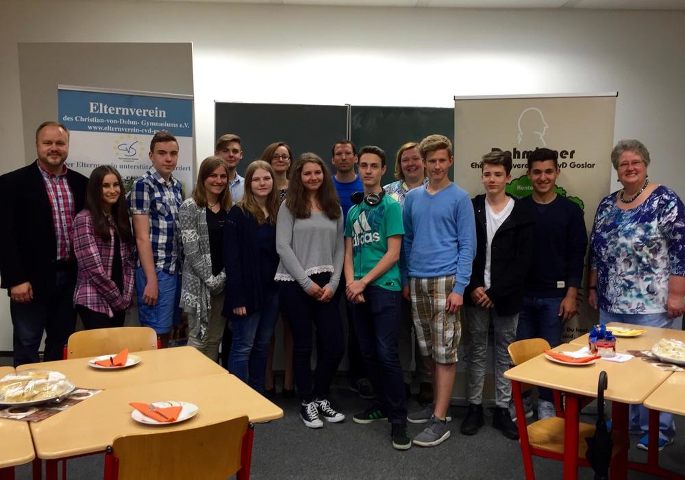 Schüler des Christian-von-Dohm-Gymnasiums wurden geehrt. Foto: Privat