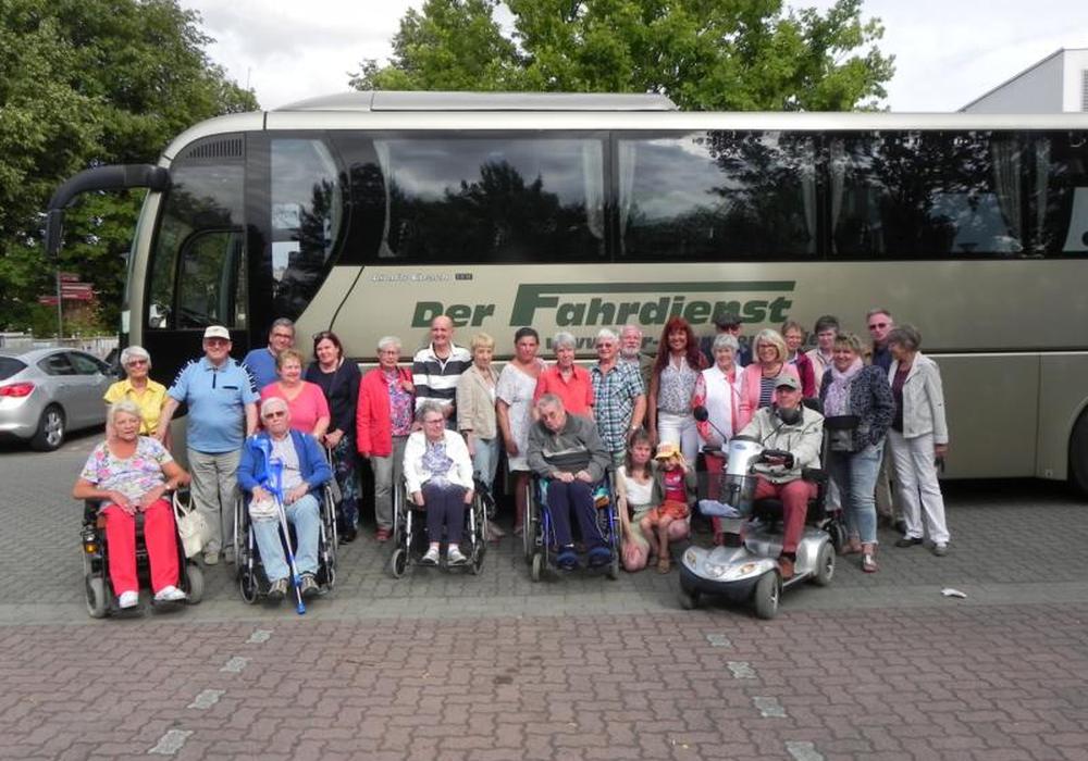 Am gestrigen Montag fuhr die MS Selbsthilfegruppe Wolfenbüttel, unter der Leitung von Susanne Gabler dieses Jahr zum Miniaturpark und in die Stadt Wernigerode. Foto: MS Selbsthilfegruppe