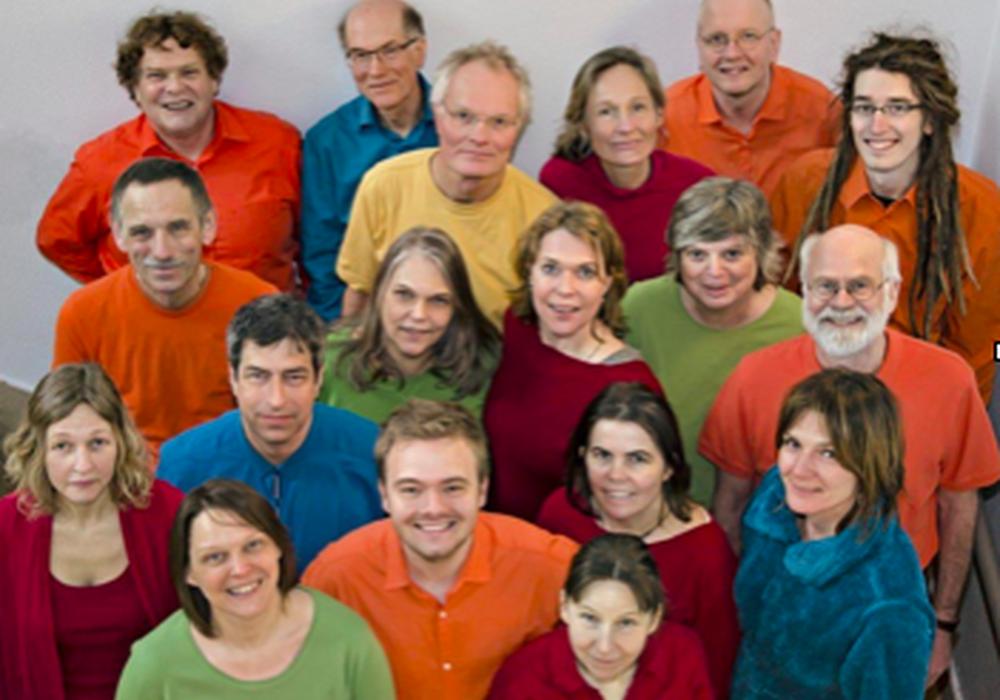 """Der Acappella-Chor """"Open Voices"""" tritt in der St. Katharinen-Kirche auf. Foto: Privat"""