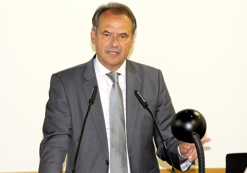Oberbürgermeister Ulrich Markurth. Foto: Archiv