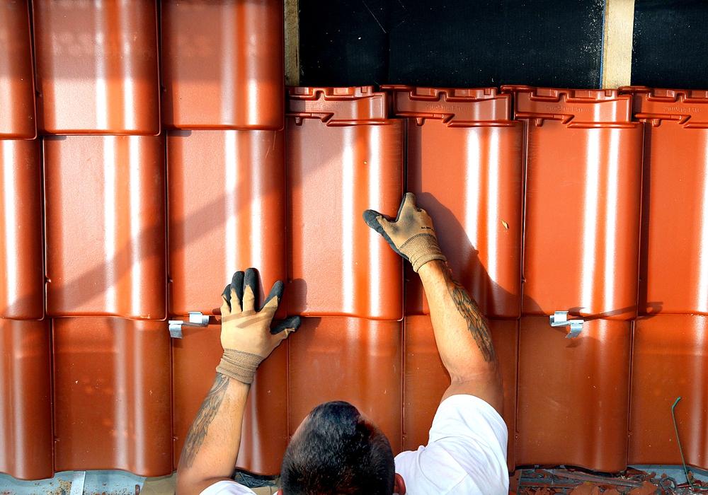 Löhne auf den Dächern steigen um 2,3 Prozent. Foto: IG BAU