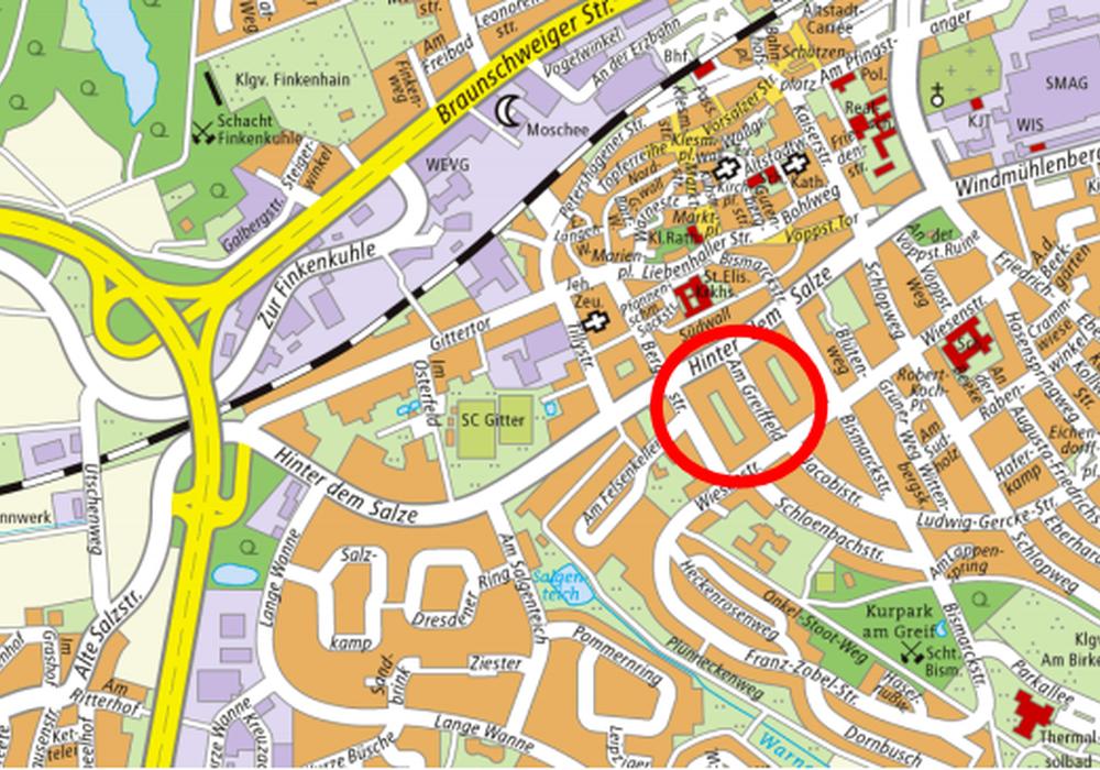 Karte: Stadt Salzgitter