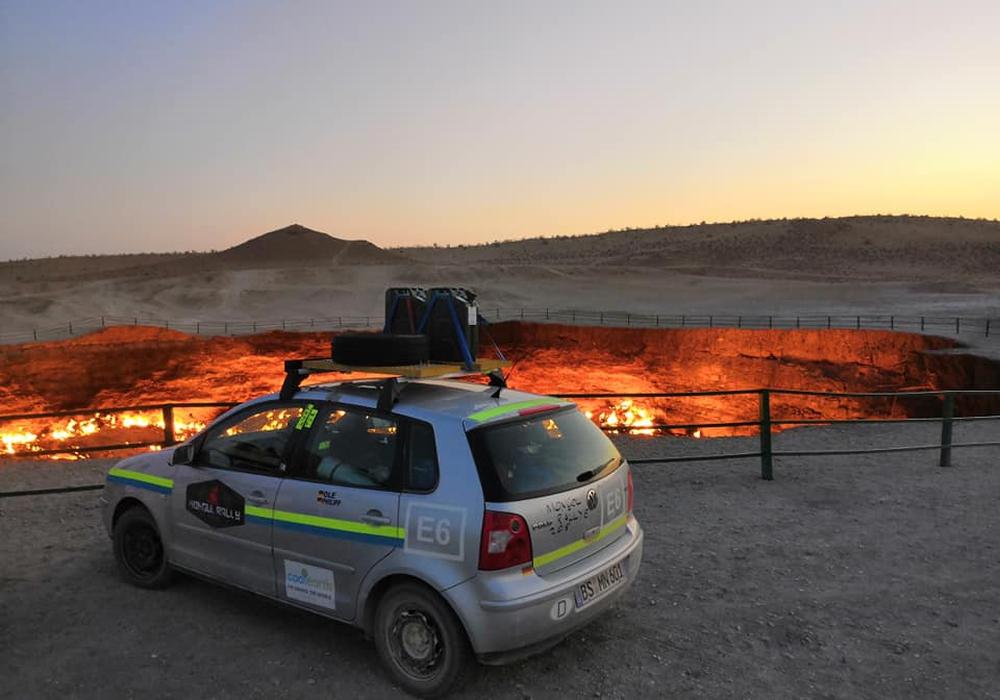 Nils Ole Ulrich und Philip Brandes berichten von ihrer Mongol Rallye. Fotos: Nils Ole Ulrich und Philip Brandes
