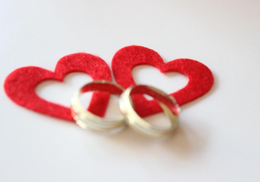 Alles Liebe zum Hochzeitstag. Foto: Archiv
