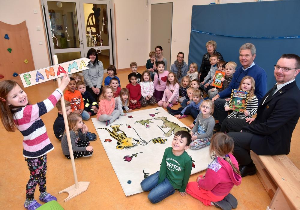 Requisiten für den Kindergarten. Foto: Lars Landmann