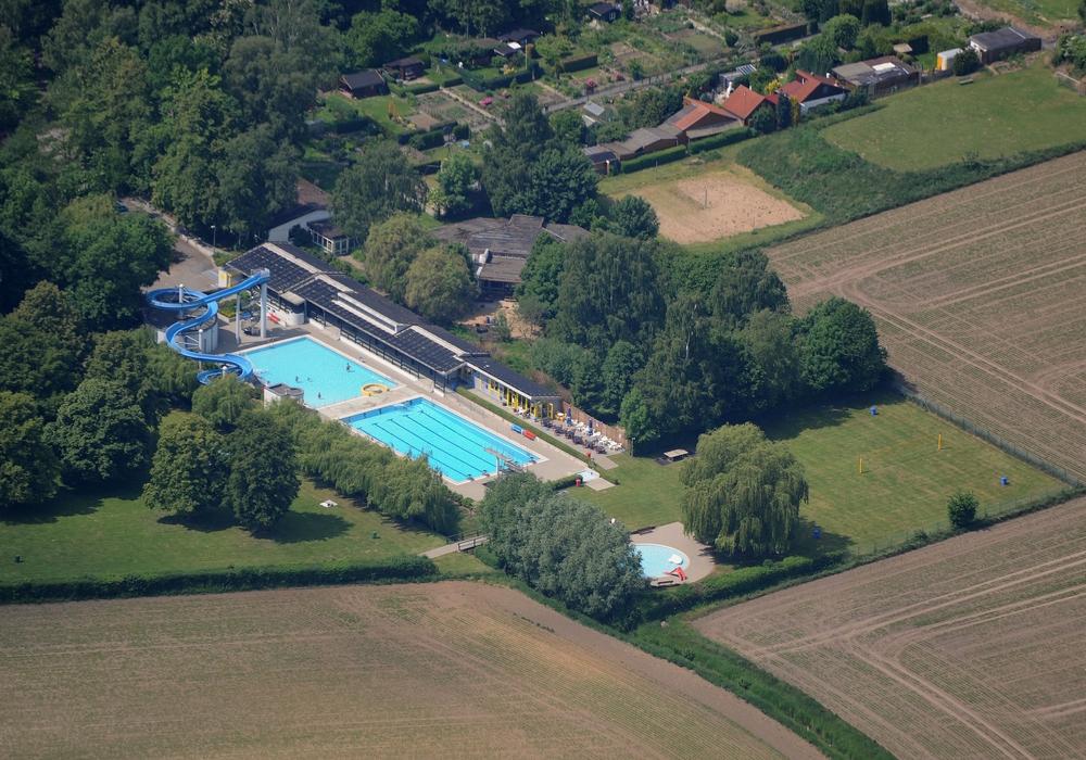 Das Freibad in Sickte kann vorerst nur einen eingeschränkten Badebetrieb anbieten. Foto: Samtgemeinde Sickte/Martin