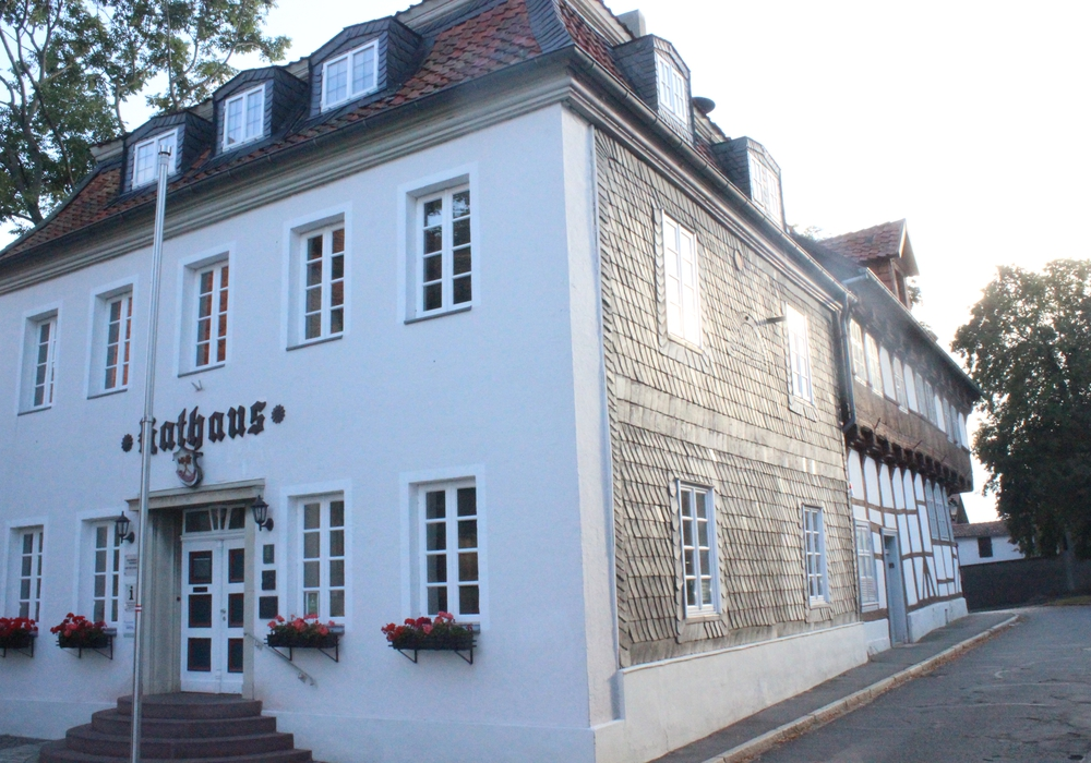 Das Rathaus in Hornburg, Foto: A. Donner
