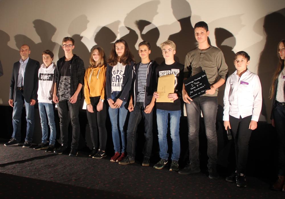 Die Silberkämper freuten sich über ihre Auszeichnung. Fotos:  FIlmklappe
