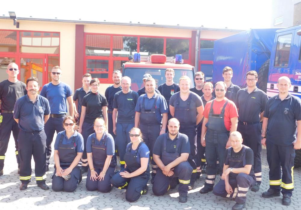 Fahrsicherheitstraining der Feuerwehr. Foto: Privat