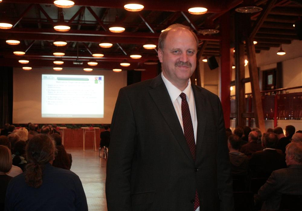 Bürgermeister Andreas Memmert bekommt seinen Ortsrat. Foto: Anke Donner
