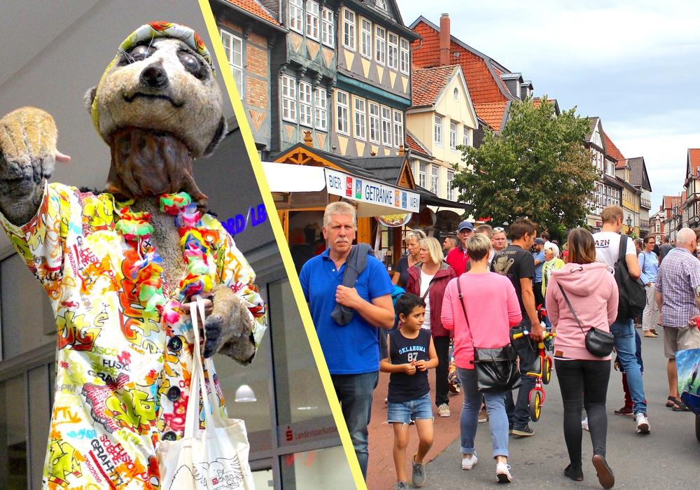 Shopping-Sonntag in der Lessingstadt. Fotos: Nick Wenkel