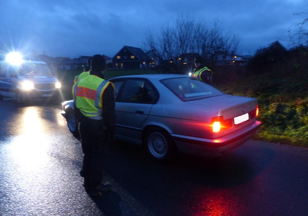 Am Mittwoch hatte die Polizei eine Großkontrolle durchgeführt. Fotos: Polizei