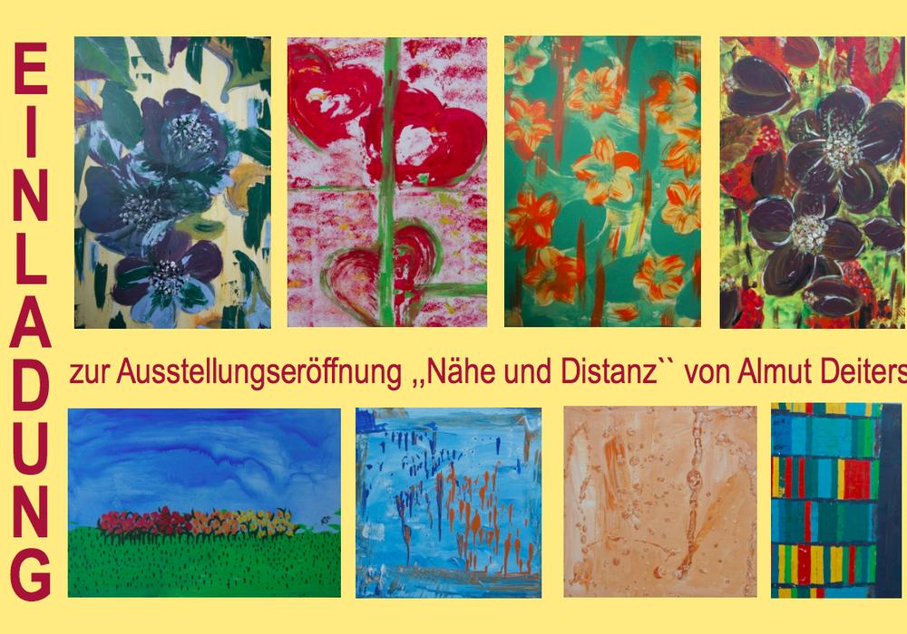 Ab Samstag werden die Kunstwerke der Peiner KünstlerinAlmut Deiters ausgestellt. Foto: Veranstalter