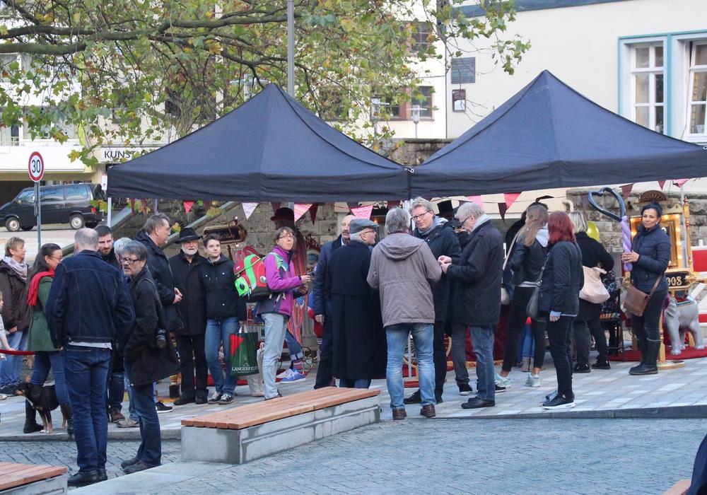 Der Ägidienmarkt wurde nach umfangreichen Umbauarbeiten feierlich eingeweiht. Fotos: Marian Hackert
