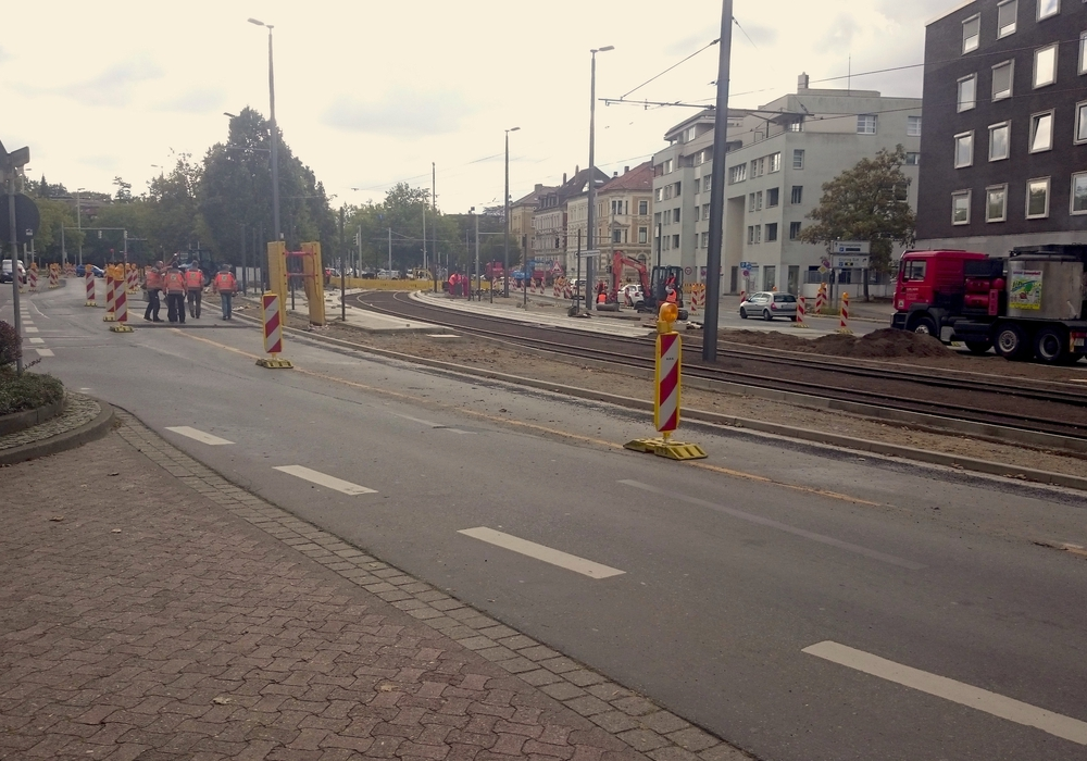 Nächstes Jahr wird an der Stobenstraße erneut gebaut. Foto: Braumann