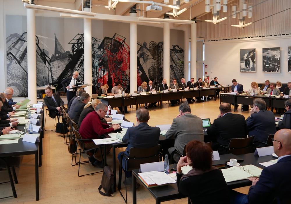 Sitzung des Kreistages in Goslar. Foto: Alexander Panknin