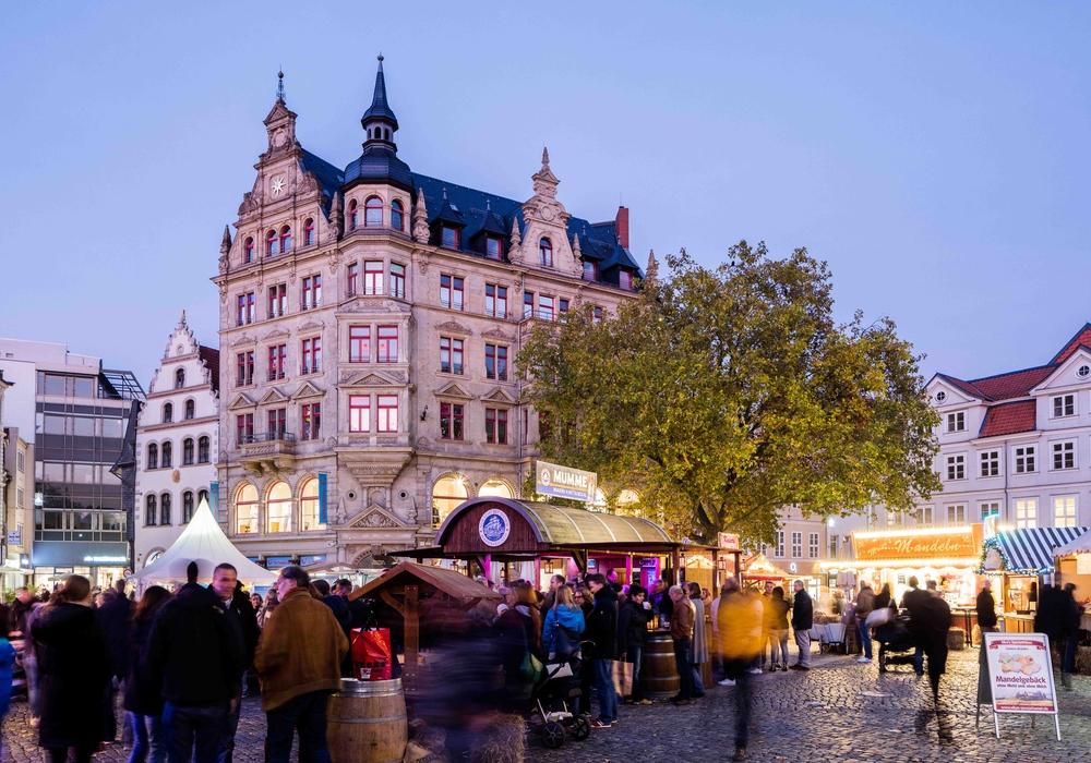 Die mummegenussmeile lädt am kommenden Wochenende zum Flanieren und Genießen ein. Foto: Braunschweig Stadtmarketing GmbH/Marek Kruszewski