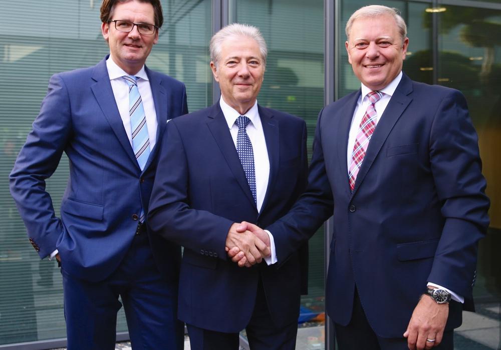 Ein außergewöhnliches Jubiläum konnte jetzt Horst Schimke, bei der Volksbank BraWo Geschäftsführer der VBW Beteiligungs GmbH sowie Direktor Beteiligungen, feiern, Foto: privat