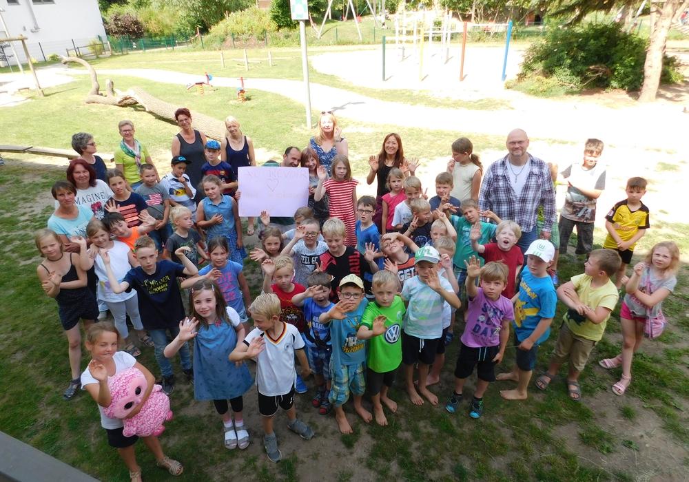 Im Rahmen der Ganztagsbetreuung sind Kinder der Gemeinde Lehre gestern gut in die Ferien gestartet, in den nächsten Wochen wartet ein buntes Programm auf sie. Foto: Gemeinde Lehre