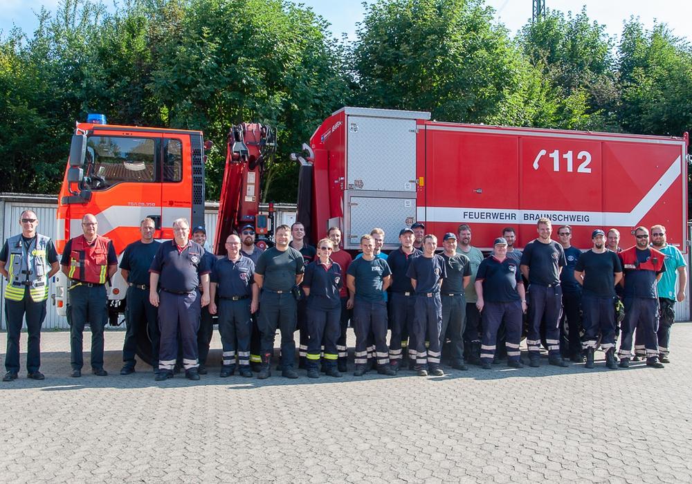 Die Feuerwehr Braunschweig war in Brandenburg im Einsatz. Fotos: Feuerwehr Braunschweig