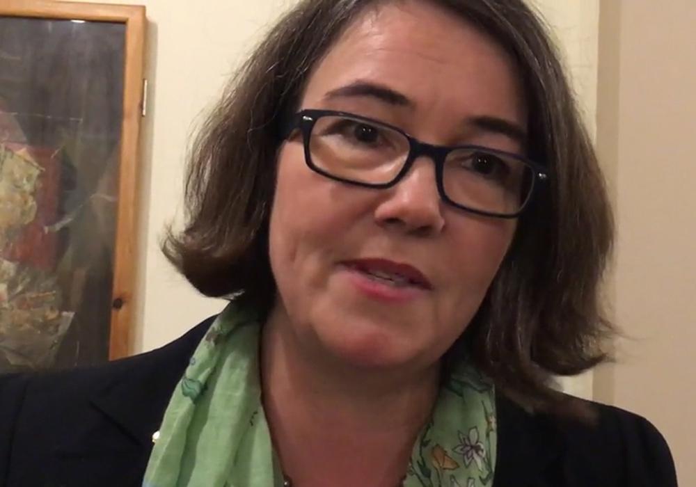 Susanne Schütz unterstützt den Stadtschülerrat bei ihren Forderungen. Foto: regionalHeute.de