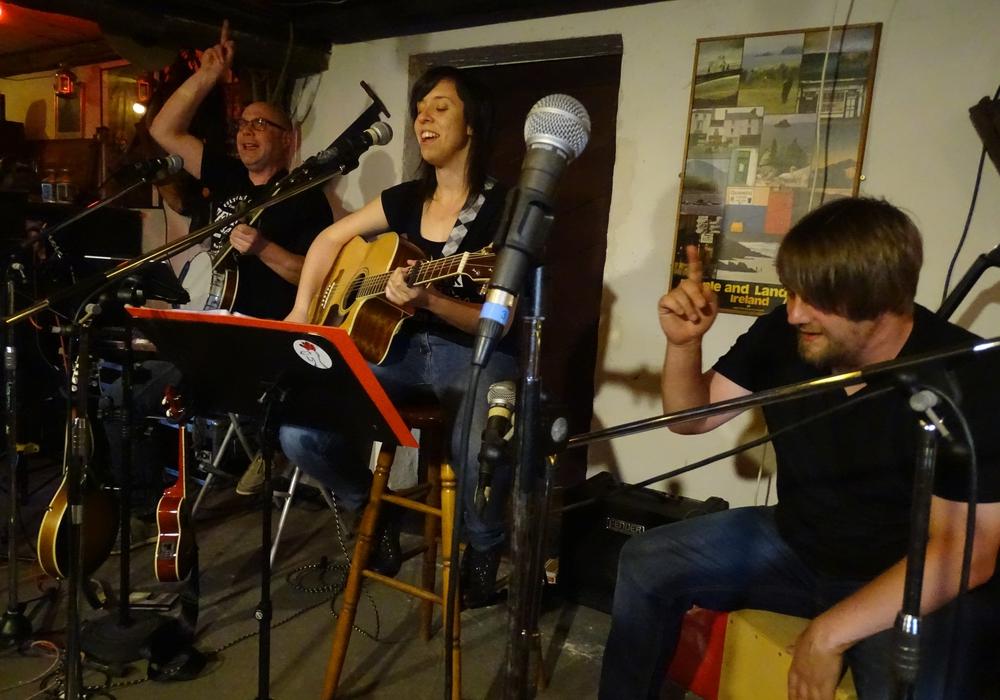 Casual Irish haben sich der irischen Pub-Musik verschrieben. Foto:  Casual Irish