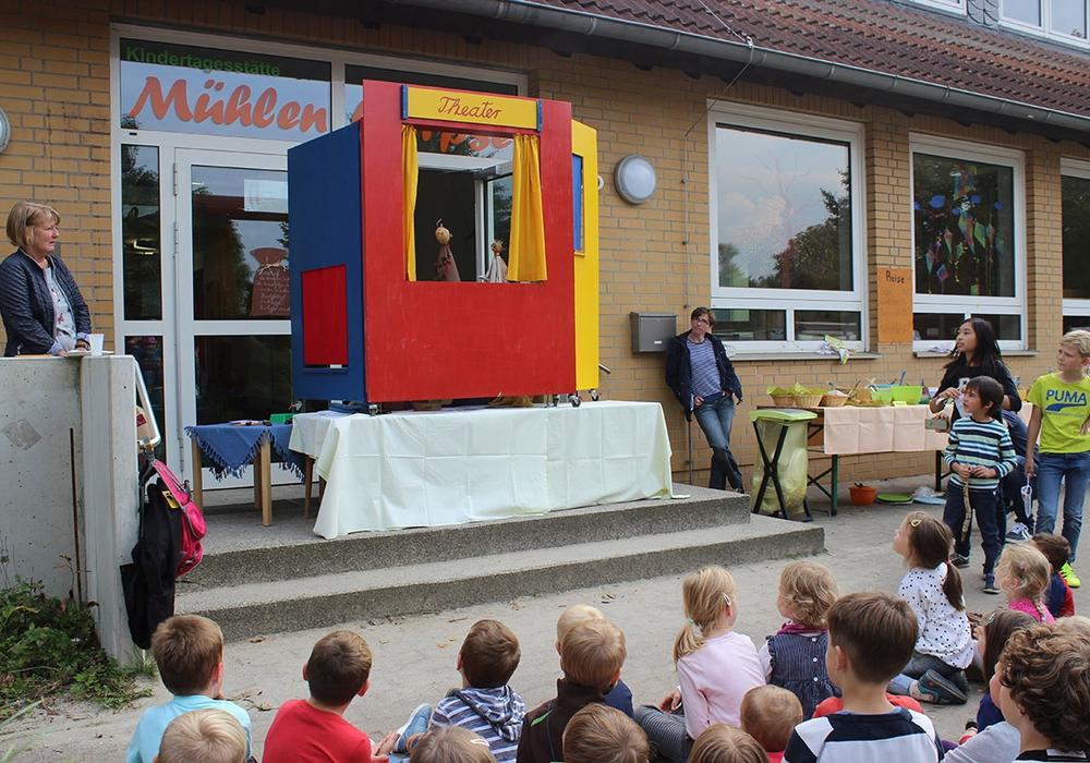Buntes Fest rund um die Kartoffel. Foto: Gemeinde Lehre