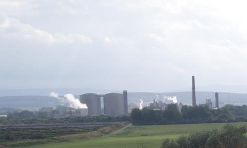 Die Zuckerfabrik Schladen.