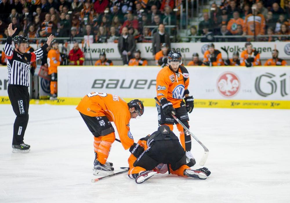 Verletzungspech bei den Grizzlys. Foto: Reinelt/Presseblend.de/Archiv