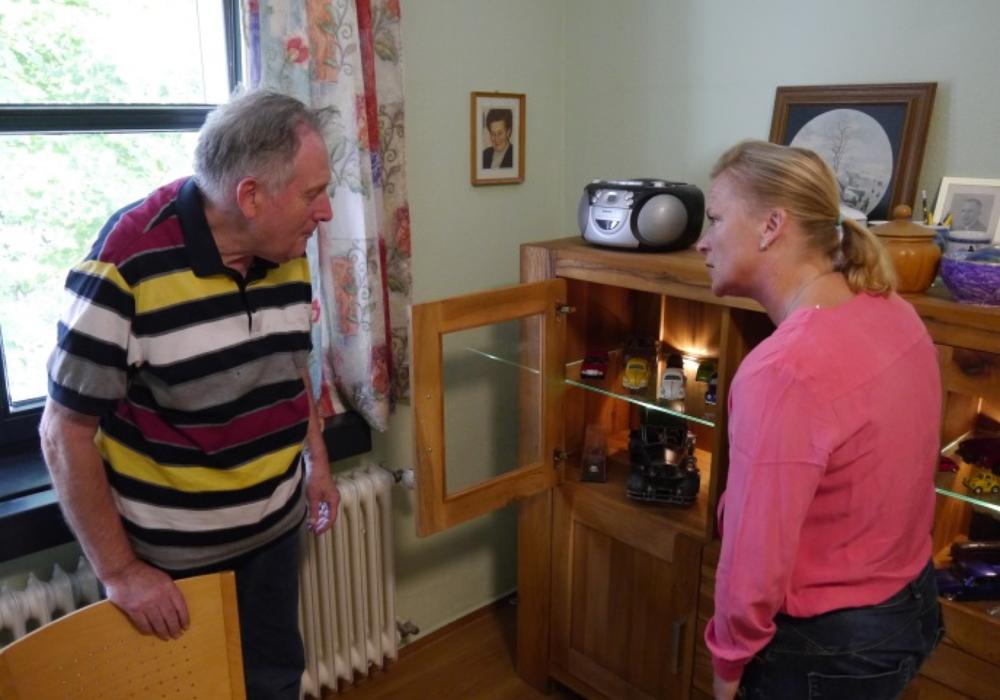 Nach einem gemeinsamen Rundgang durch die Werkstatt am Blauen Stein folgte der Besuch der Wohneinrichtungen. Foto: Wahlkreisbüro von Dunja Kreiser