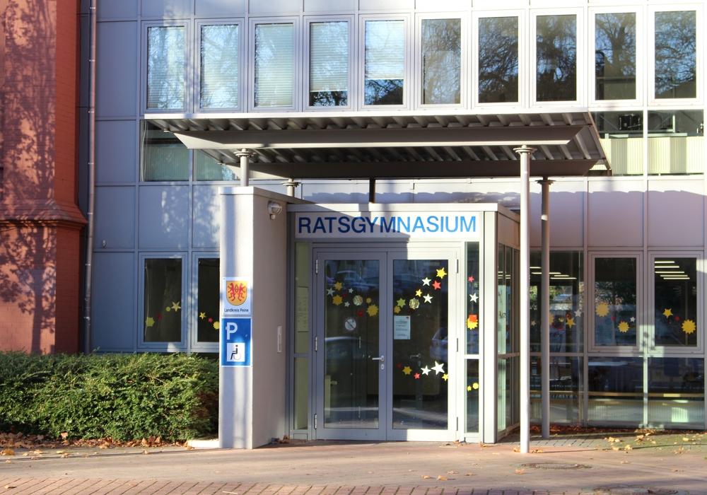 Im Ratsgymnasium Peine wird der größte Posten investiert. Foto: Archiv/Frederick Becker