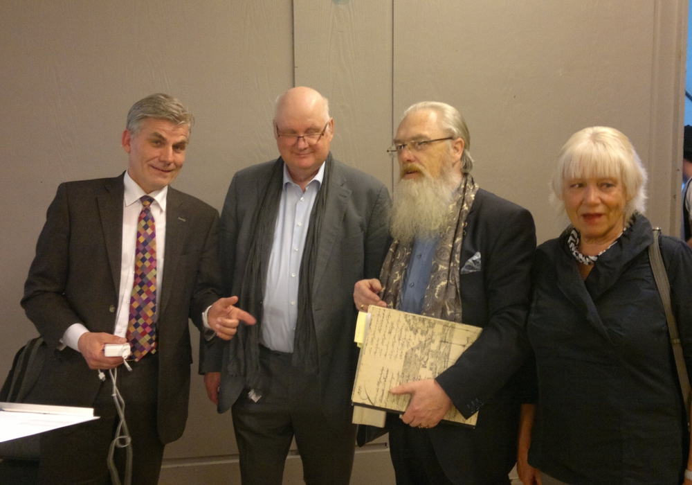 Passie, Beckermann, Biegel und Sonnek (von links), Foto: Gerd Sonnek