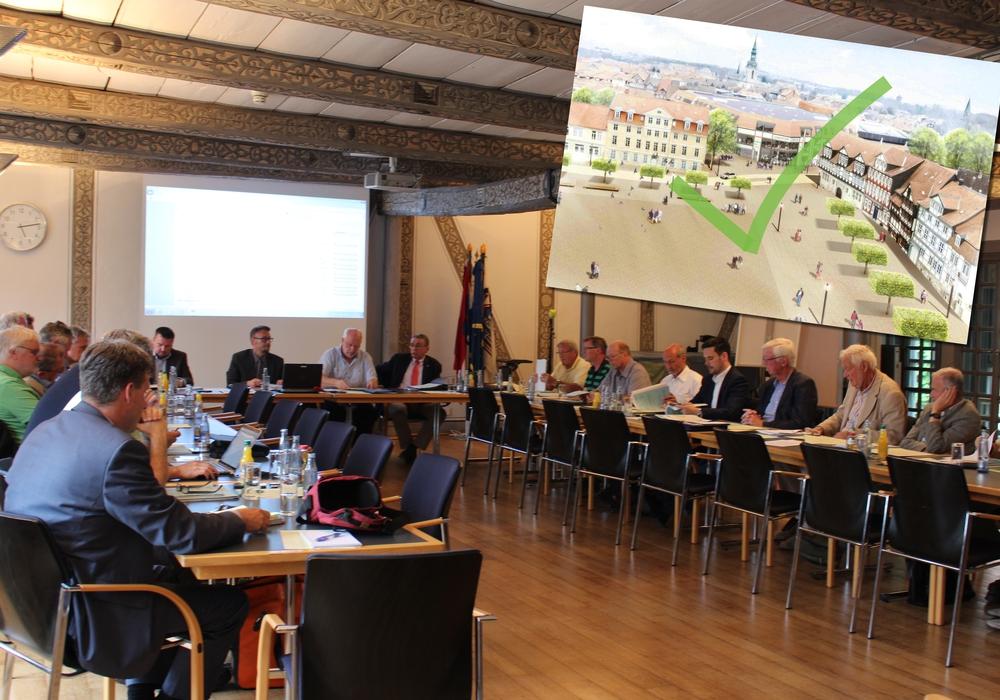 Gleichzeitig wurde der Antrag der FDP, die aktuelle Verkehrsführung beizubehalten, abgelehnt. Foto: Nick Wenkel
