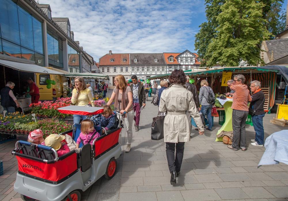 Goslar Wochenmarkt. Symbolfoto: Alec Pein