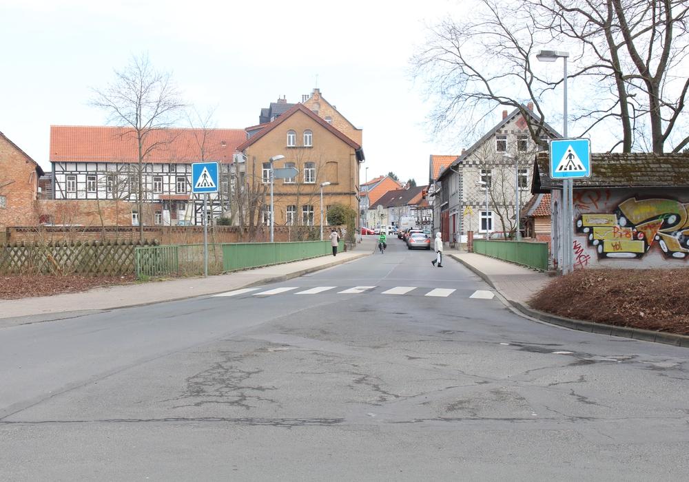 Die Arbeiten an der Marktstraße sollen voraussichtlich bis zum Ende der Osterferien am 2. April abgeschlossen sein. Foto: Jan Borner