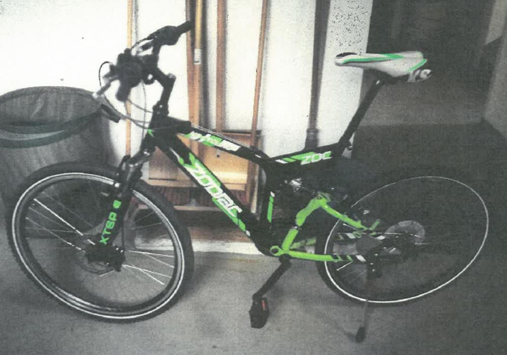 So sieht das gestohlene Fahrrad aus. Foto: Polizei Goslar