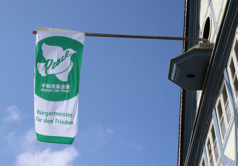 Einige Städte der Region zeigen Flagge, so auch die Stadt Wolfenbüttel. Foto: Stadt Wolfenbüttel (2015)