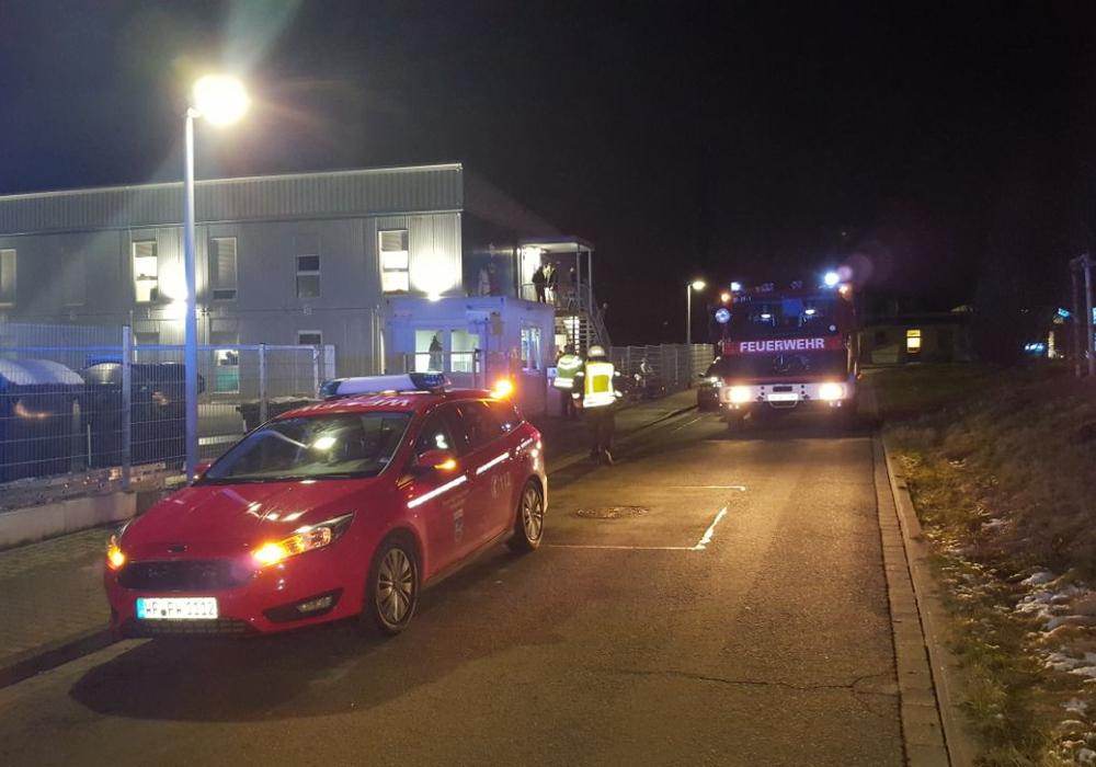 Die Feuerwehr war zur Flüchtlingsunterkunft in der Langen Straße ausgerückt. Foto: Feuerwehr Wolfenbüttel