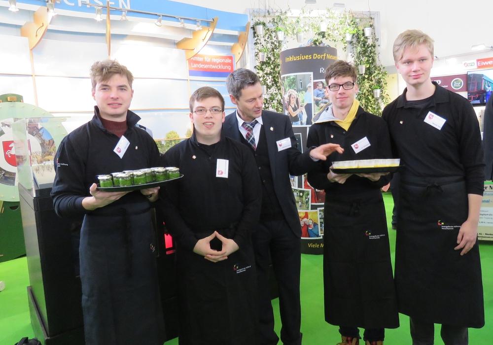 Die Stiftung Neuerkerode sorgte für kulinarische Genüsse. Foto: Privat