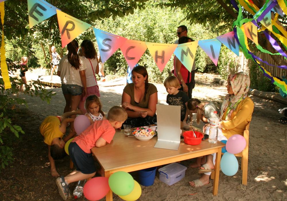 Im Kindergarten Lummerland wurde ein buntes Sommerfest gefeiert. Fotos: Stadt Peine